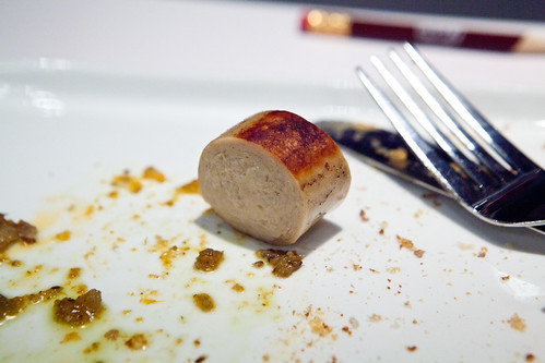 Chicken beer sausage