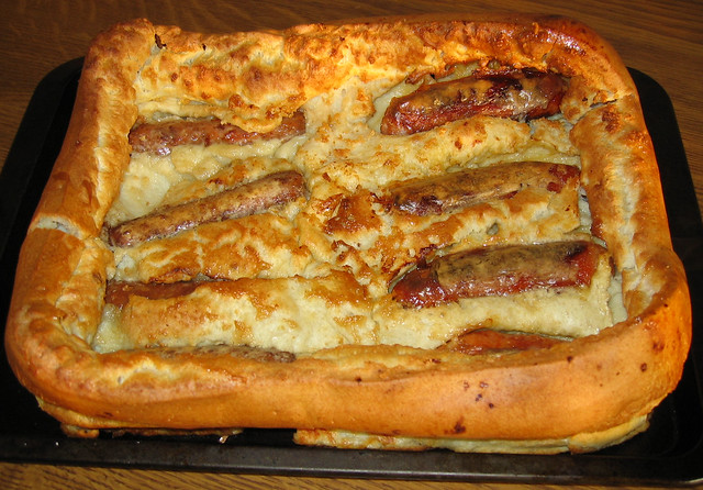 My Toad in the hole second attempt