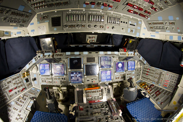 Discovery's Flight Deck