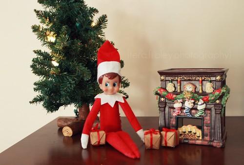 {Elf on the Shelf} Day 12