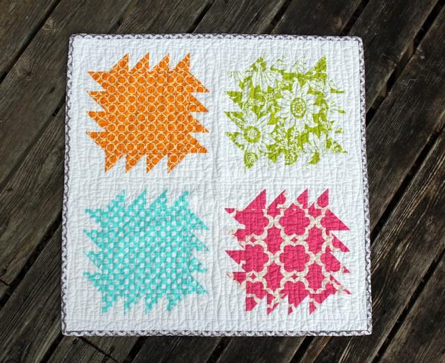 sparkle mini quilt.