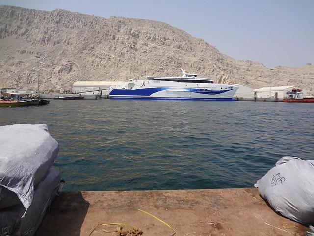 Fotografias do porto de Khasab em Ras Musandam Omã