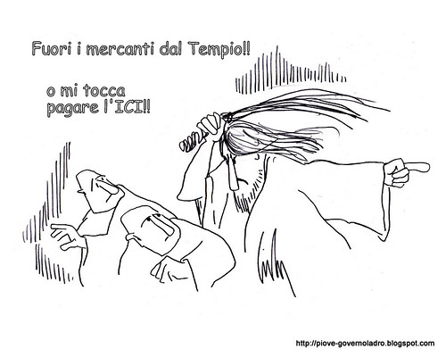 Fuori i mercanti...o l'ICI by Livio Bonino