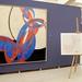 motiv - obraz Františka Kupky a návrh motivu na šátku a kolekci