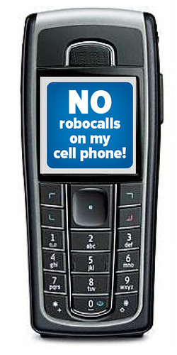 Congress Hangs Up on Cell Phone Robocalls