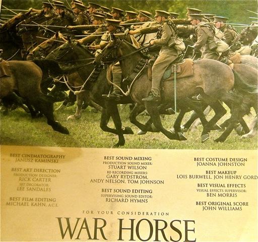 War Horse ad