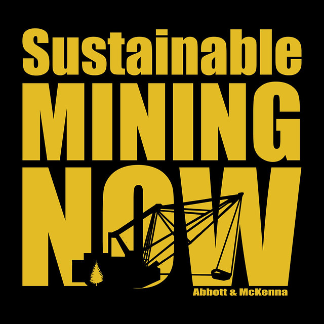 Sustainable Mining Now Book cover 2011