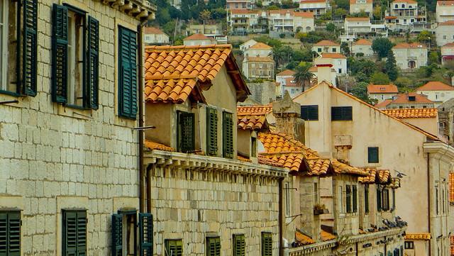Houses in Dubrovnik's Old City