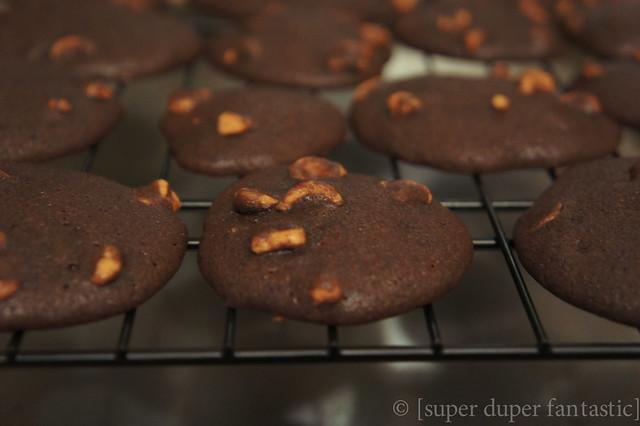 Chocolate Truffle Espresso Cookies