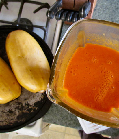 Blended Red Pepper Sauce