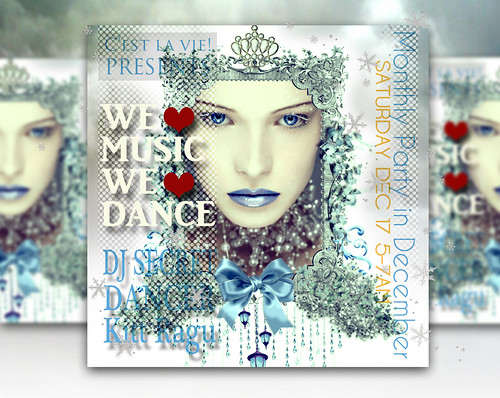 ::C'est la vie!:: Monthly Dance Party in December by larcoco