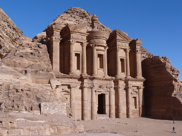 El Deir o Monasterio de Petra (Jordania)