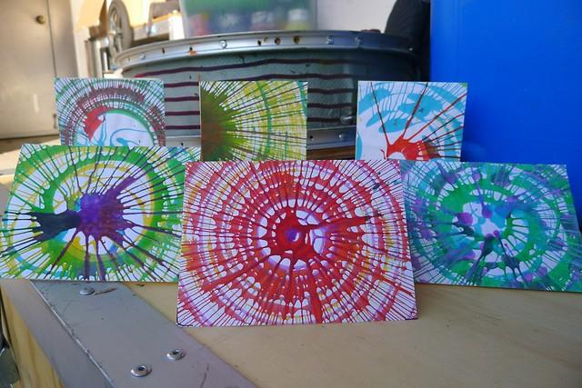 bicimaquina spin art