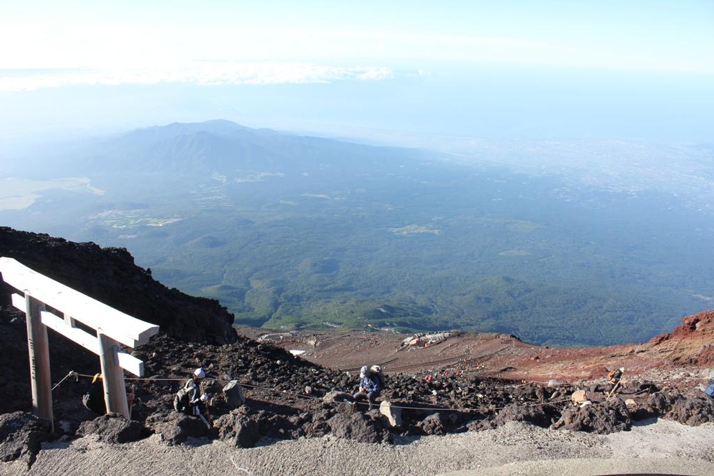 Mt. Fuji experience report (Yoshida route) Part4 (4)