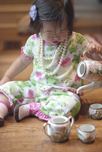 lily pj and tea