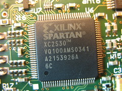RockyLogic Ant8, Xilinx Spartan XC2S30 FPGA