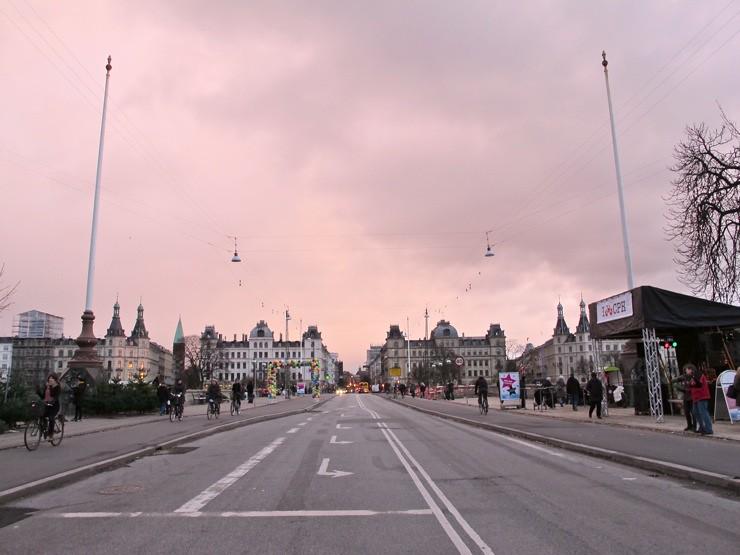 Copenhagen's widest bikelanes
