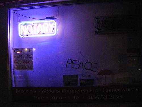PEACE NOTARY