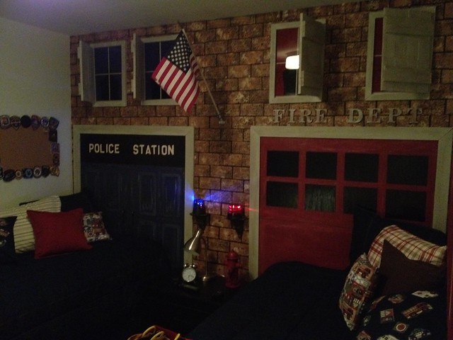 Fire Department And Police Station Theme Are Nicklas S