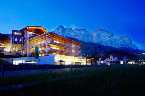 Meraviglioso tra la natura il Lagacio Mountain Residence. Foto: gentile concessione del Residence