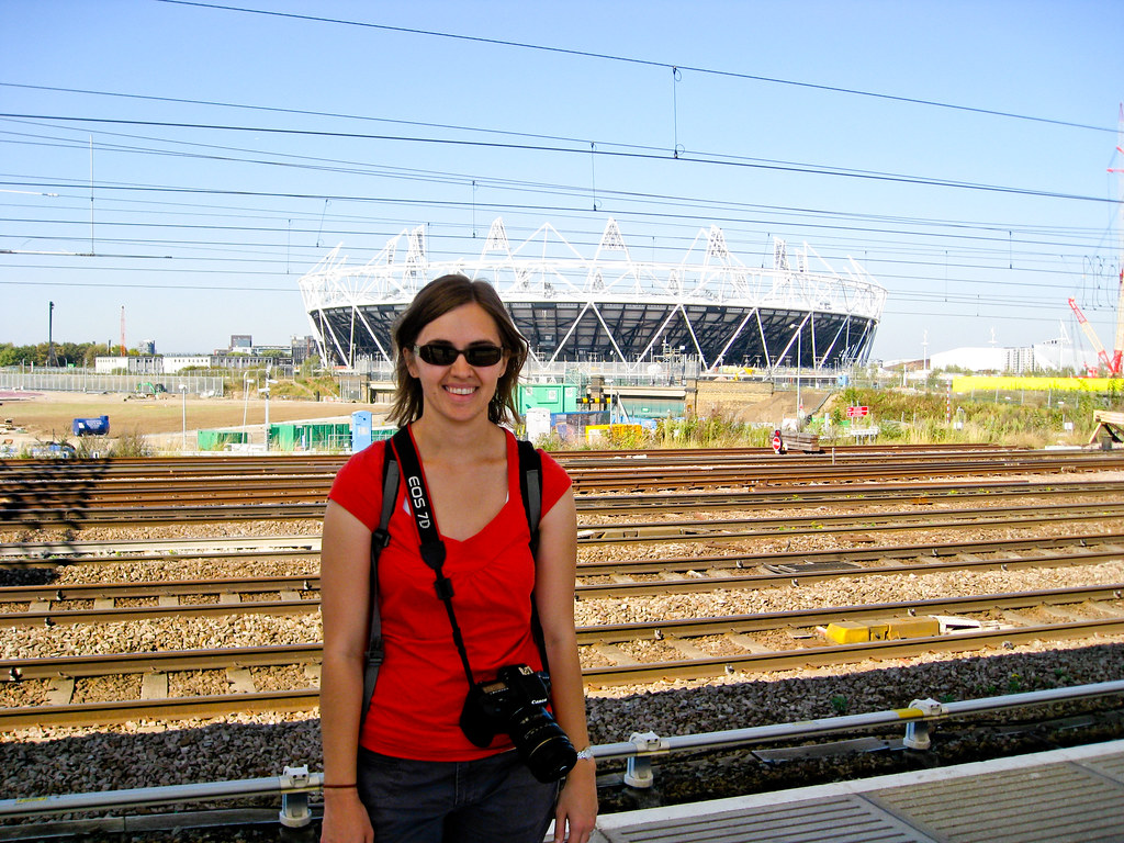 Sara at Olympic Village