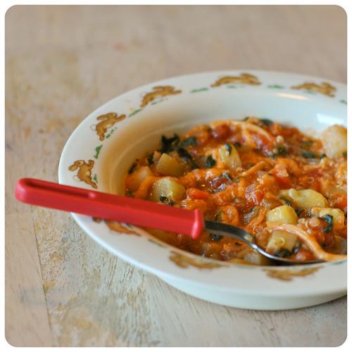 quinoa minestrone