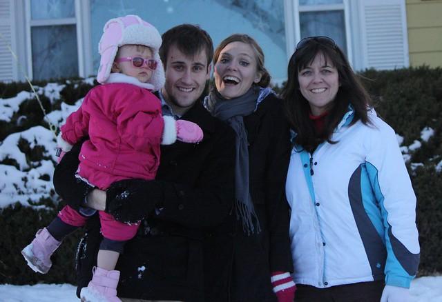 Mom, Cordelia, Maria, Ben