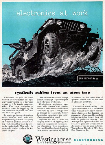 Jeep WWII Synthetic Tires Ad by lee.ekstrom