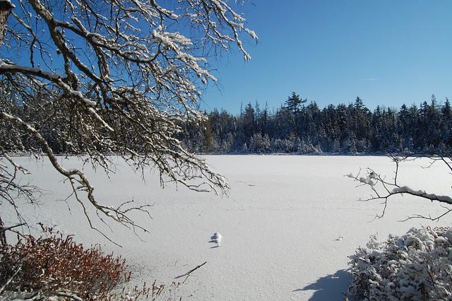 Frozen bog, Christmas Eve