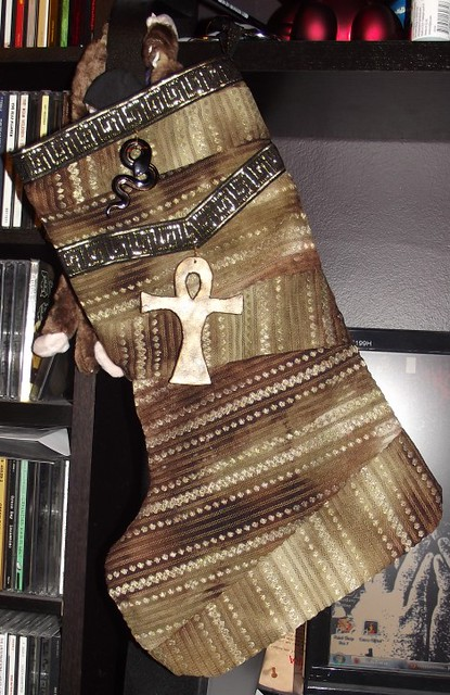 Egyptian-Inspired Stocking