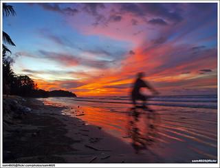 Sunset @ Beringgis Beach, Papar