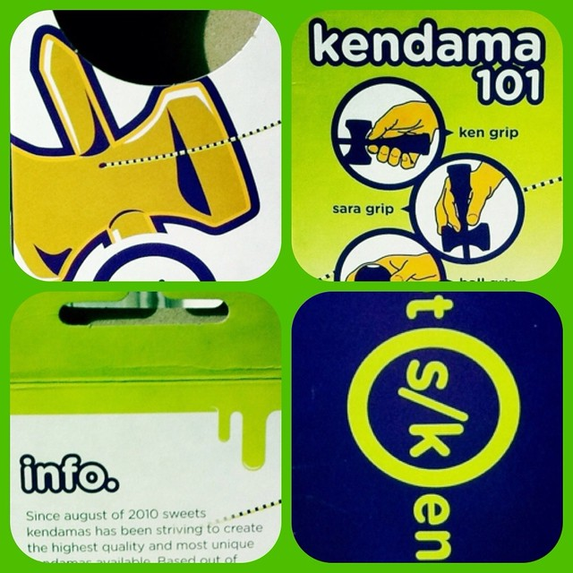 Sweets Kendama Packaging