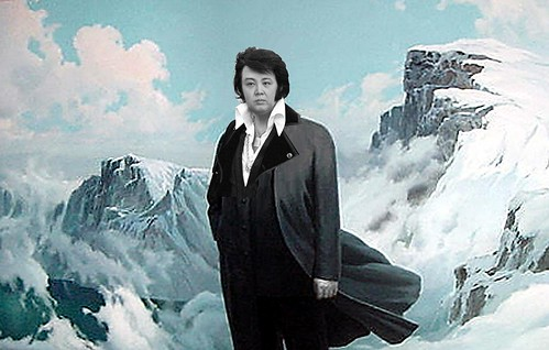 KIM JUNG UNVIS ON SACRED MOUNTAIN by Colonel Flick