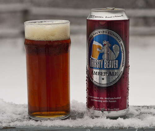 Review: Tree Brewing's Thirsty Beaver Amber Ale by Cody La Bière