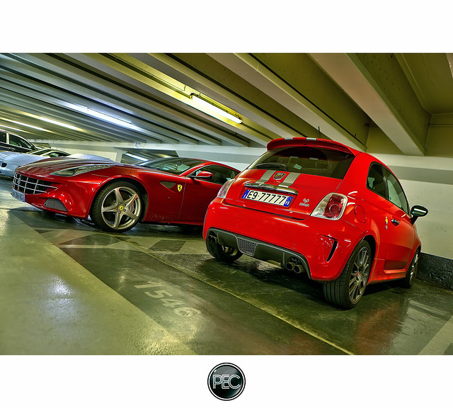 Photo Of The Day: Ferrari FF Meets 695 Tributo