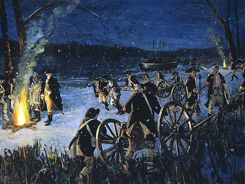 Washington at the crossing