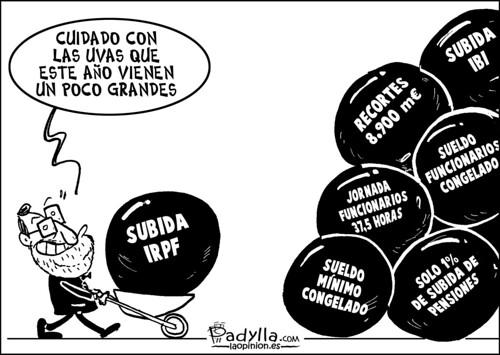 Padylla_2011_12_30_Las uvas de Rajoy