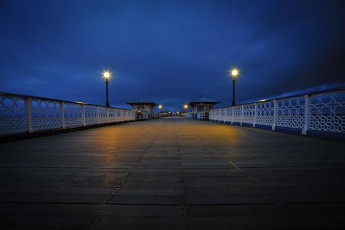 Llandudno Pier by davidrobertsphotography