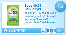 Eat Your Vegetables  Snikiddy   Coupon