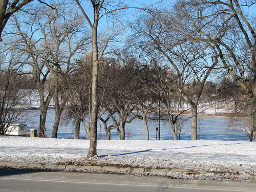 Powderhorn Park from 35th St E & 13th Ave S
