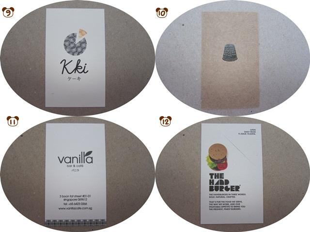 Food Storecards