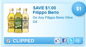 Filippo Berio Olive Oil Coupon