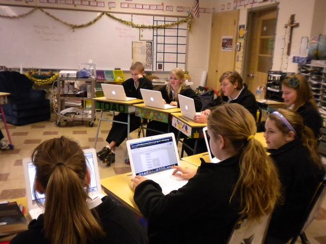 Classroom by Flickr CC Denise Krebs