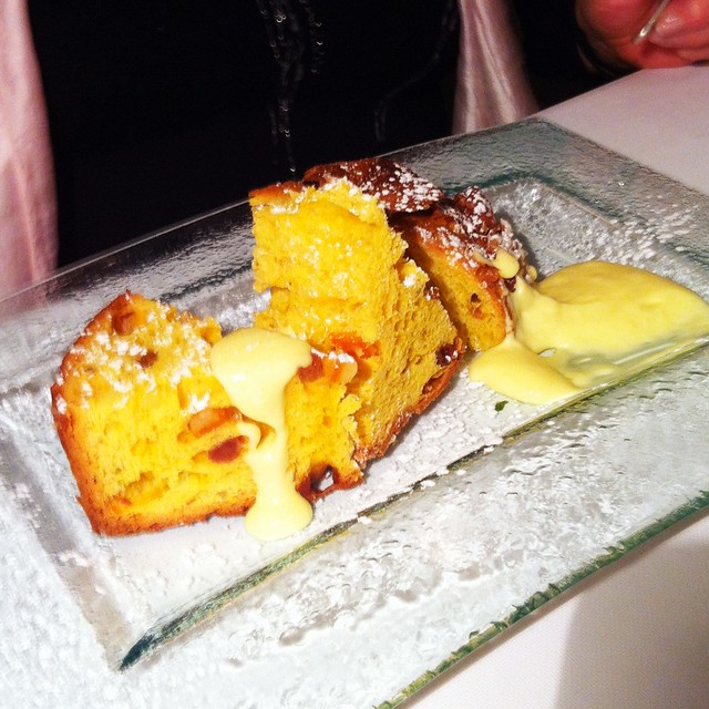 panettone dessert at il saraceno cavernago flickr photo