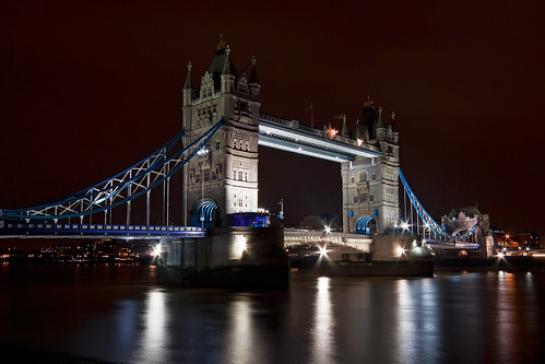 Tower Bridge by night!