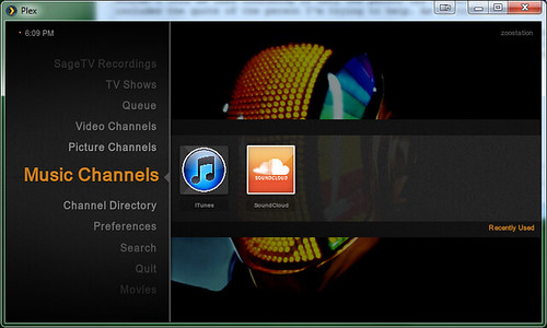 how to connect itunes library with plex