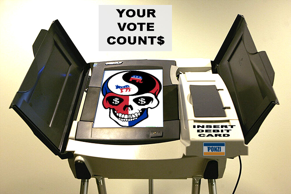 YOUR VOTE COUNT$