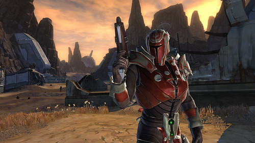 SWTOR Bounty Hunter Powertech Build and Spec Guide