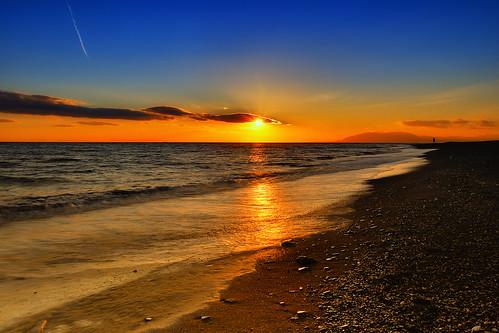 españa costa sun holiday sol atardecer coast mar spain playa paisaje andalucia nubes costadelsol puestadesol malaga vacaciones velez cokin axarquia velezmalaga nd8 benajarafe nikond90 coastofsun