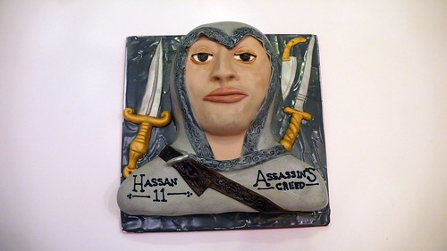 Assassin's Creed Cake by CAKE Amsterdam - Cakes by ZOBOT